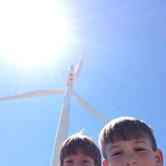 "A ""homeschool"" field trip up the Columbia Gorge to learn a little about wind energy."