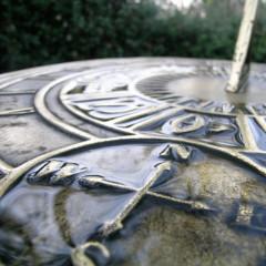 rainy sundial